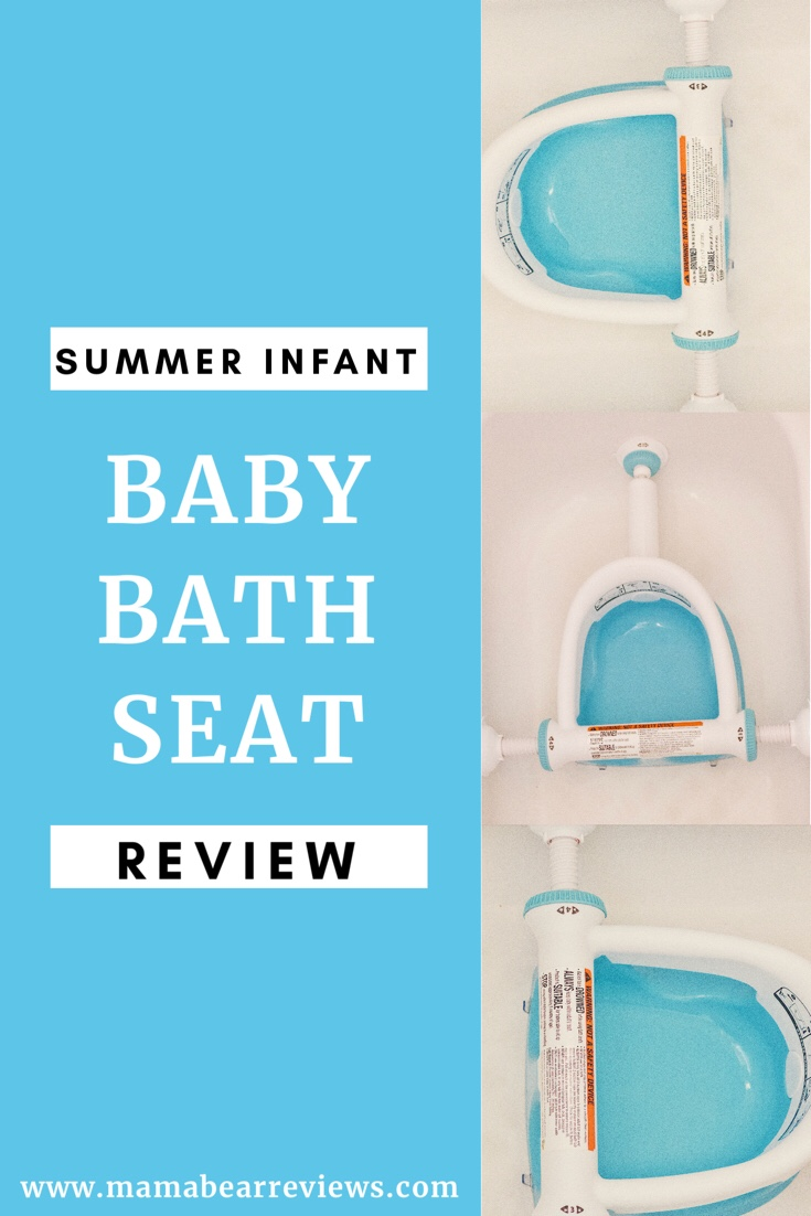 Summer Infant Bath Seat Review – Mama Bear Reviews